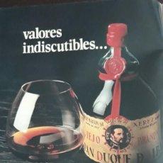 Coleccionismo de Revistas y Periódicos: ANUNCIO BRANDY GRAN DUQUE DE ALBA . Lote 136418010