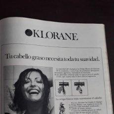 Coleccionismo de Revistas y Periódicos: ANUNCIO KLORANE . Lote 136420066