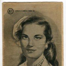 Coleccionismo de Revistas y Periódicos: MARISOL - GRACE KELLY Y EL PRINCIPE RANIERO DE MONACO ANUNCIAN SU BODA FOTO CONTRAPORTADA AÑO 1956 . Lote 136518374