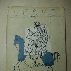 Coleccionismo de Revistas y Periódicos: REVISTA VERVE. EDITADA EN PARIS. 1951. EJEMPLAR DEDICADO A LAS OBRAS DE PICASSO ENTRE 1949 Y 1951.. Lote 140203213