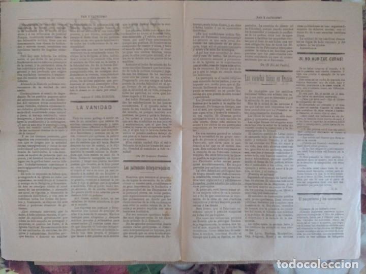 Coleccionismo de Revistas y Periódicos: PAN Y CATECISMO SUPLEMENTO DE LA BUENA PRENSA MADRID 1911 Nº 33 RELIGION - Foto 3 - 136551946