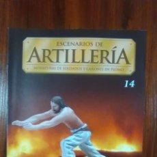 Coleccionismo de Revistas y Periódicos: COLECCIONABLE PLANETA DEAGOSTINI - ESCENARIOS DE ARTILLERIA - NUMERO 14. Lote 136667626
