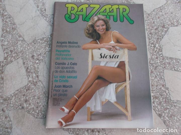 Bazar Nº 91977 Angela Molina Desnuda 9 Paginas 11fotos Y 1 Posterlos Desnudos De Lidia