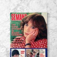 Coleccionismo de Revistas y Periódicos: SEMANA - 1981 - JULIO IGLESIAS, EUGENIO, MARISOL, BRINCOS, ISABEL PANTOJA Y PAQUIRRI, ROCIO JURADO. Lote 136722302