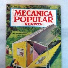 Coleccionismo de Revistas y Periódicos: MECÁNICA POPULAR OCTUBRE 1957. Lote 136993562