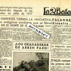 Coleccionismo de Revistas y Periódicos: PERIODICO MARXISTA 1937 LA BATALLA BATALLON DE CHOQUE DE DIVISION LENIN P.O.U.M. FOTOGRAFO LATORRE. Lote 137128962