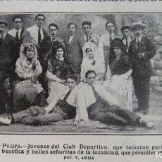 Coleccionismo de Revistas y Periódicos: MEDINA DE POMAR BURGOS HOJA AÑO 1915. Lote 137129706