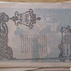 Coleccionismo de Revistas y Periódicos: LOTE DE 15 REVISTAS MODERNISTAS PLUMA Y LÁPIZ -AÑO 1900. Lote 137129717