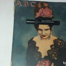 Coleccionismo de Revistas y Periódicos: PERIODICO ABC AÑO 1933 17 DE JUNIO ACTRIZ MARÍA ALBA PUBLICIDAD FIRESTONE HISPANIA BILBAO . Lote 137130602