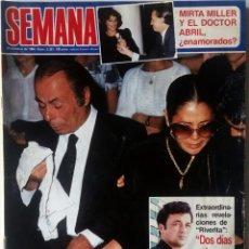 Coleccionismo de Revistas y Periódicos: REVISTA SEMANA Nº 2331 ISABEL PANTOJA PAQUIRRI, LINA MORGAN, NORMA DUVAL, JULIO IGLESIAS SOFIA LOREN. Lote 137147358