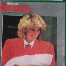Coleccionismo de Revistas y Periódicos: ANTENA SEMANAL. Nº 198. MAMÁS FAMOSAS, BEBÉS PROTAGONISTAS.JUAN PABLO II.. Lote 137160098