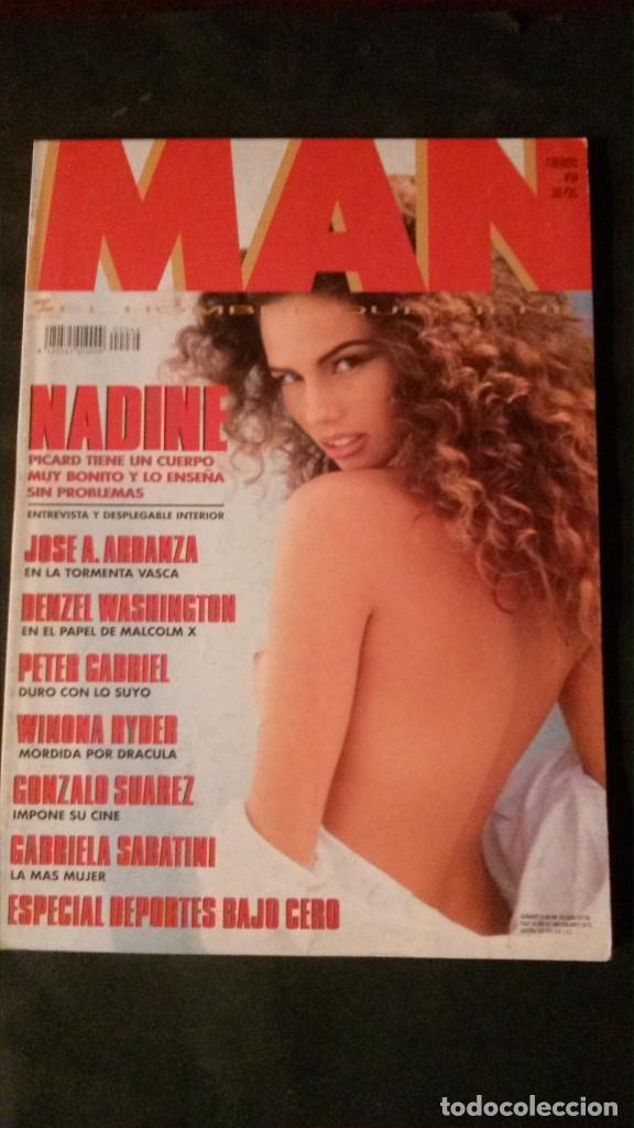 MAN 64-1993-PETER GABRIEL-GABRIELA SABATINI-ESTELLE HALLYDAY-NADINE PICARD-WINONA RYDER segunda mano