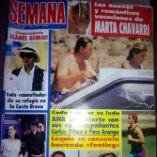 Coleccionismo de Revistas y Periódicos: REVISTA SEMANA AGOSTO 1994. Lote 137186092