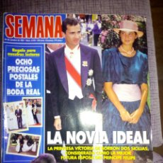 Coleccionismo de Revistas y Periódicos: REVISTA SEMANA OCTUBRE 1997. Lote 137189262
