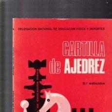Coleccionismo de Revistas y Periódicos: CARTILLA DE AJEDREZ - ROMAN TORAN - EDITORIAL DONCEL 1971. Lote 137190058