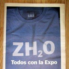 Coleccionismo de Revistas y Periódicos: HERALDO DE ARAGON ESPECIAL EXPO ZARAGOZA 2008. Lote 137204582