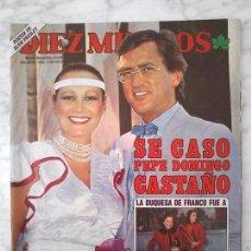 Coleccionismo de Revistas y Periódicos: DIEZ MINUTOS - 1985 - ELVIS PRESLEY, DINASTÍA, KIM (UN DOS TRES), FALCON CREST, J. PARDO, M. JIMÉNEZ. Lote 91382135
