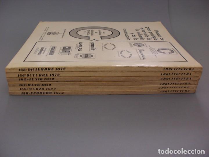Coleccionismo de Revistas y Periódicos: REVISTAS TEMAS ARQUITECTURA, MADRID 1972. 6 EJEMPLARES: NÚMEROS 158, 159, 161, 162, 166, 168 - Foto 7 - 137293154
