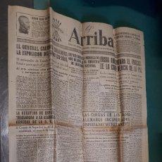 Coleccionismo de Revistas y Periódicos: PERIÓDICO ARRIBA, 18 OCTUBRE 1946. Lote 137348474