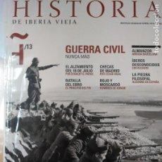 Coleccionismo de Revistas y Periódicos: HISTORIA DE IBERIA VIEJA, 13 GUERRA CIVIL, CHECAS MOSCARDO. Lote 137381066