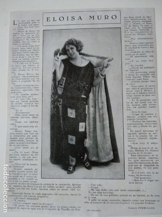 b93c3c2dea entrevista revista original antigua a eloisa mu - Comprar Revistas y ...