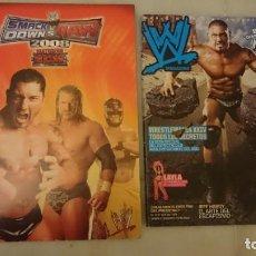 Coleccionismo de Revistas y Periódicos: LOTE WWE. SMACK DOWN, RAW. PRESSING CATCH. Lote 137446970