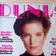 Coleccionismo de Revistas y Periódicos: REVISTA DUNIA 194-REVISTA DE MODA. Lote 137455938