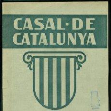 Coleccionismo de Revistas y Periódicos: CASAL DE CATALUNYA - MADRID - 1936 - NUM. 8 . Lote 137459030