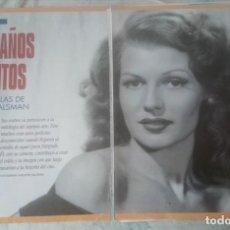 Coleccionismo de Revistas y Periódicos: CIEN AÑOS DE MITOS. LAS ESTRELLAS DE PHILIPPE HALSMAN (EL SEMANAL 1995). Lote 137470502