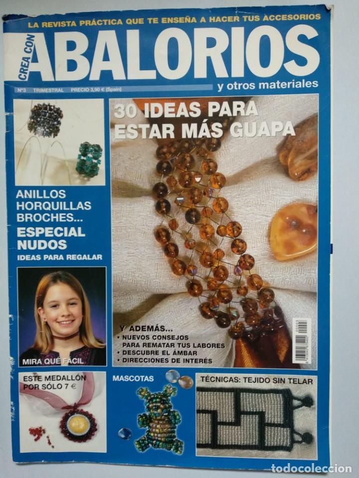 8195e1d4ea3a Revista CREA CON ABALORIOS Nº 3 del año 2002