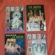 Coleccionismo de Revistas y Periódicos: LOTE REVISTA LA SAETA (SEMANA SANTA DE MÁLAGA) 1981 Y 1982. Lote 137565282