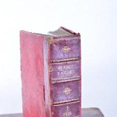 Coleccionismo de Revistas y Periódicos: BLANCO Y NEGRO - TOMO 3 - AÑO 1930 - LIBRO ENCUADERNADO - COLECCIÓN, REVISTAS, PUBLICIDAD. Lote 137601682