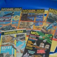 Coleccionismo de Revistas y Periódicos: LOTE REVISTAS 5 REVISTAS MODELISM . REVISTAS MODELISMO RUMANAS -DESCATALOGADAS. Lote 137710006