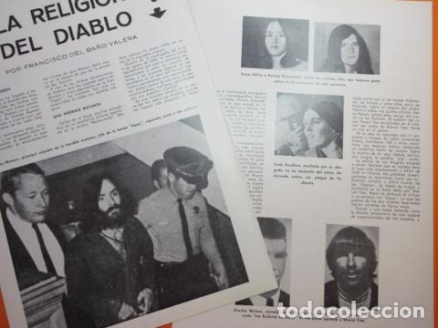 Articulo 1972 - charles manson la matanza sharo - Sold