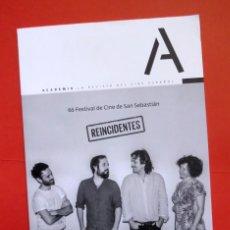 Coleccionismo de Revistas y Periódicos: ACADEMIA, REVISTA DEL CINE ESPAÑOL 233 - SEPT-OCT 2018 - FESTIVAL CINE SAN SEBASTIÁN, ICIAR BOLLAÍN. Lote 137757754