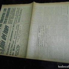 Coleccionismo de Revistas y Periódicos: PERIODICO DIVISION AZUL MUY RARO AÑO JULIO 1941. Lote 137779322