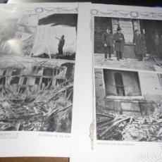Coleccionismo de Revistas y Periódicos: RECORTE PRENSA : INCENDIO DEL TEATRO LA COMEDIA. BLANCO NEGRO, ABRIL 1915. Lote 137848170