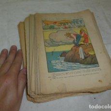 Coleccionismo de Revistas y Periódicos: LOTE DE 27 REVISTA TEBEO EL PATUFET, CATALANISTA. DE 1931 A GUERRA CIVIL. ORIGINALES.. Lote 137917694