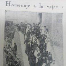 Coleccionismo de Revistas y Periódicos: SANTA COLOMA DE FARNERS BARCELONA ROMERIA ERMITA DE BRUGUES HOJA AÑO 1931. Lote 138031486