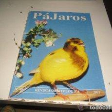 Coleccionismo de Revistas y Periódicos: REVISTA PAJAROS ORNITOLOGICA - N 48 -- REFGIMHAULEMGRMACABRU. Lote 138050526