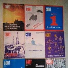 Coleccionismo de Revistas y Periódicos: 9 REVISTAS CORT, REVISTA MALLORQUINA, LA VEU DE LES ILLES, 1976 (ALGUN ARTÍCULO EN CATALÁN). Lote 138050794