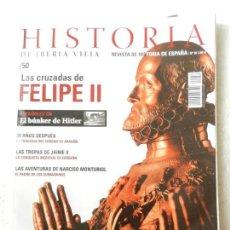 Coleccionismo de Revistas y Periódicos: REVISTA HISTORIA DE IBERIA VIEJA Nº 50 - ESPAÑOLES EN EL BUNKER DE HITLER. Lote 138052290