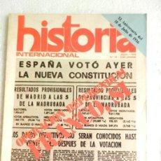 Coleccionismo de Revistas y Periódicos: REVISTA HISTORIA INTERNACIONAL Nº 16 JULIO 1976. Lote 138066366