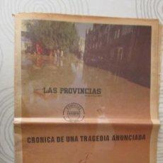 Coleccionismo de Revistas y Periódicos: DIARIO LAS PROVINCIAS. 31 OCTUBRE 1982. INFORME ESPECIAL RIADA DE VALENCIA. . Lote 138123510