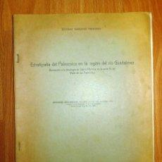 Coleccionismo de Revistas y Periódicos: MÁRQUEZ TRIGUERO, ESTEBAN. ESTRATIGRAFÍA DEL PALEOZOICO EN LA REGIÓN DEL RÍO GUADALMEZ : APORTACIÓN. Lote 263592835
