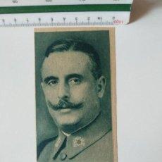 Coleccionismo de Revistas y Periódicos: RECORTE PRENSA ORIGINAL AÑOS 30.COMANDANTE INFANTERIA JULIO REQUEJO. Lote 138564850