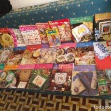 Coleccionismo de Revistas y Periódicos: GRAN LOTE DE REVISTAS PUNTO DE CRUZ ....PATRONES DISEÑOS DIBUJOS ..... VER FOTOS. Lote 138666646