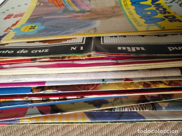 Coleccionismo de Revistas y Periódicos: GRAN LOTE DE REVISTAS PUNTO DE CRUZ ....PATRONES DISEÑOS DIBUJOS ..... VER FOTOS - Foto 2 - 138666646
