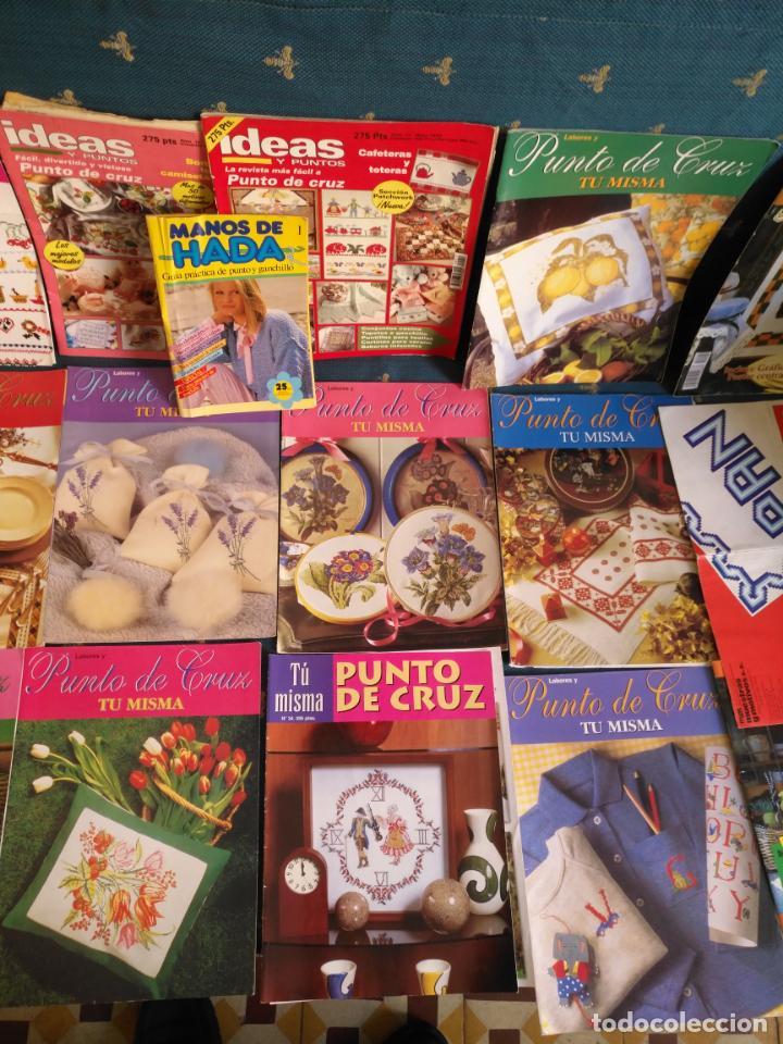Coleccionismo de Revistas y Periódicos: GRAN LOTE DE REVISTAS PUNTO DE CRUZ ....PATRONES DISEÑOS DIBUJOS ..... VER FOTOS - Foto 3 - 138666646