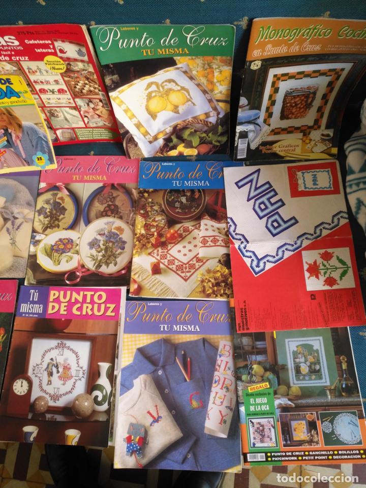 Coleccionismo de Revistas y Periódicos: GRAN LOTE DE REVISTAS PUNTO DE CRUZ ....PATRONES DISEÑOS DIBUJOS ..... VER FOTOS - Foto 5 - 138666646